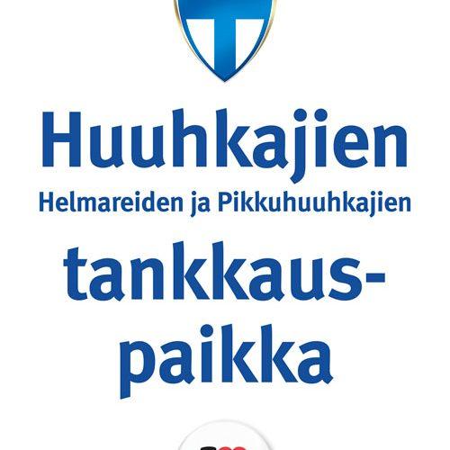 Teboil on Huuhkajien ja Helmareiden virallinen tankkauspaikka